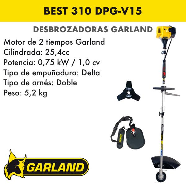 Desbrozadora Garland Best 310 DPG-V15