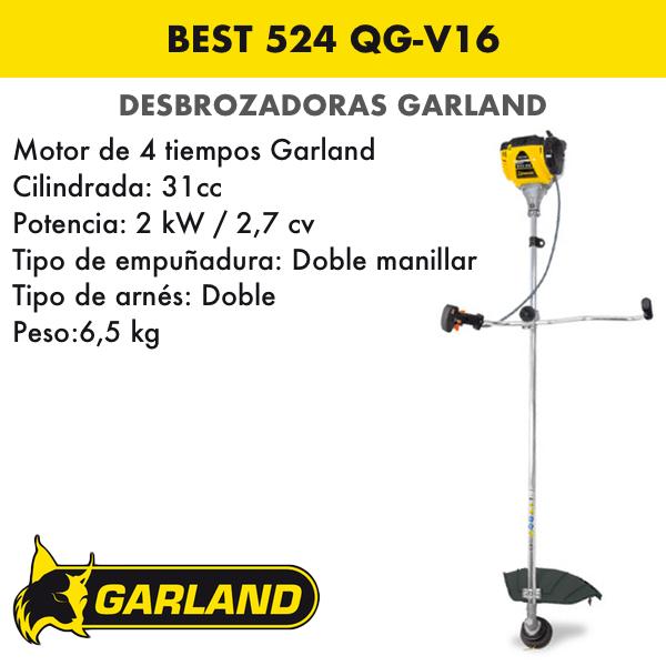 Desbrozadora Garland Best 524 QG-V16