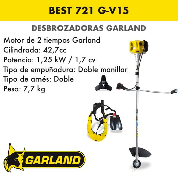 Desbrozadora Garland Best 721 G-V15
