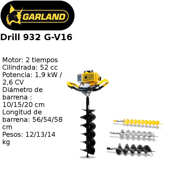 ahoyadora garland drill 932 g-v16