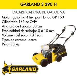 Escarificadora Garland S 390 H