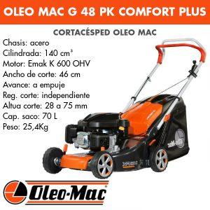Cortacésped Oleo Mac G 48 PK Comfort Plus