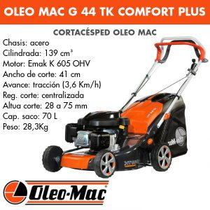 Cortacésped Oleo Mac G 44 TK Comfort Plus