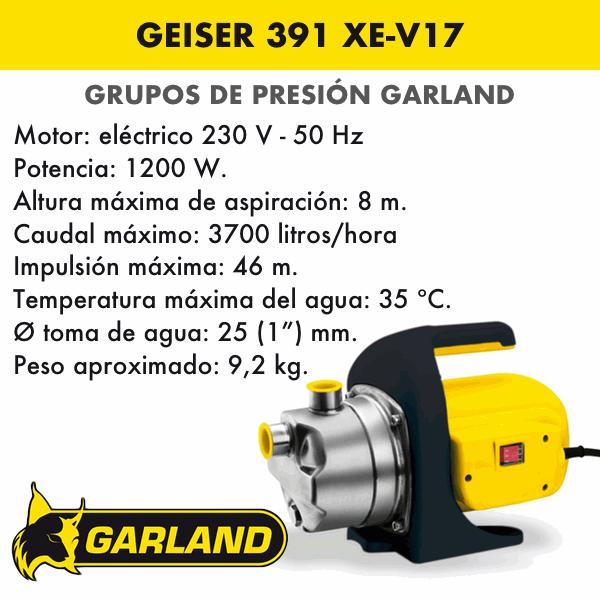 GEISER 391 XE-V17