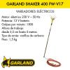 Garland Shaker 400 FW-V17