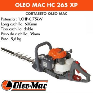 Cortasetos Oleo Mac HC 265 XP