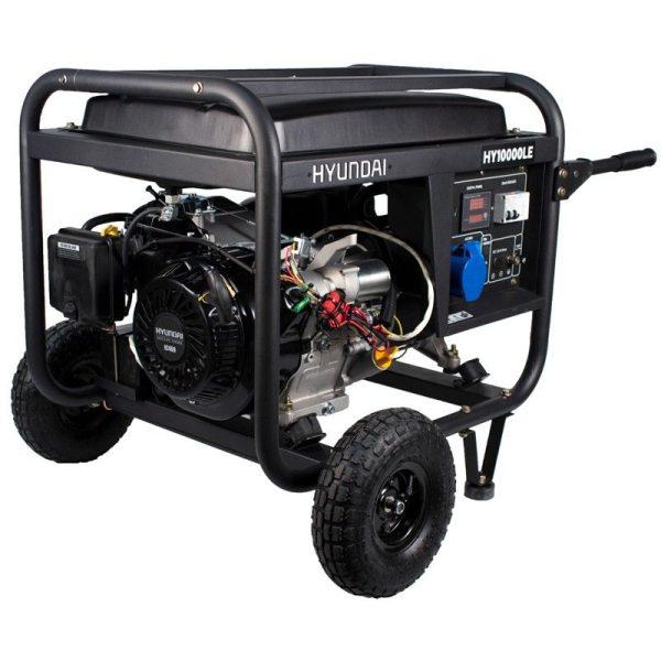 Generador eléctrico Hyundai HY10000LEK monofásico