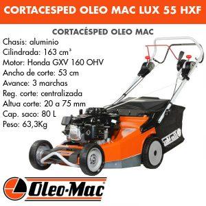 Cortacésped Oleo Mac Lux 55 HXF