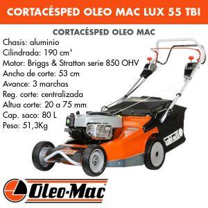 Cortacésped Oleo Mac Lux 55 TBI