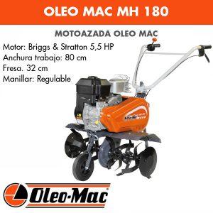 Motoazada Oleo Mac MH 180