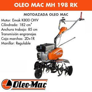 Motoazada Oleo Mac MH 198 RK