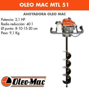 Ahoyadora Oleo Mac MTL 51