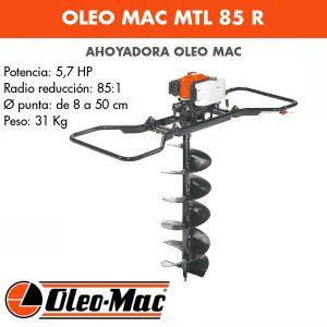 Ahoyadora Oleo Mac MTL 85 R