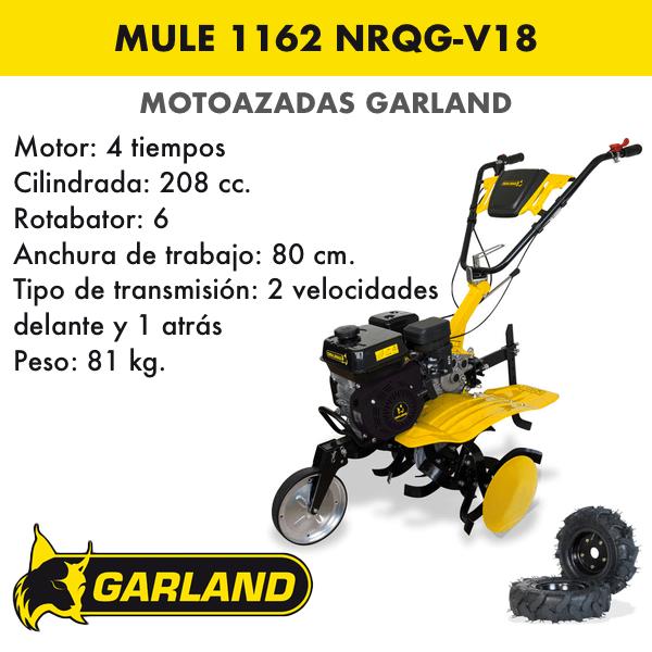 Motoazada Garland Mule 1162 NRQG-V18
