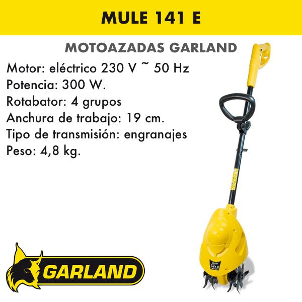 Motoazada Garland Mule 141 E