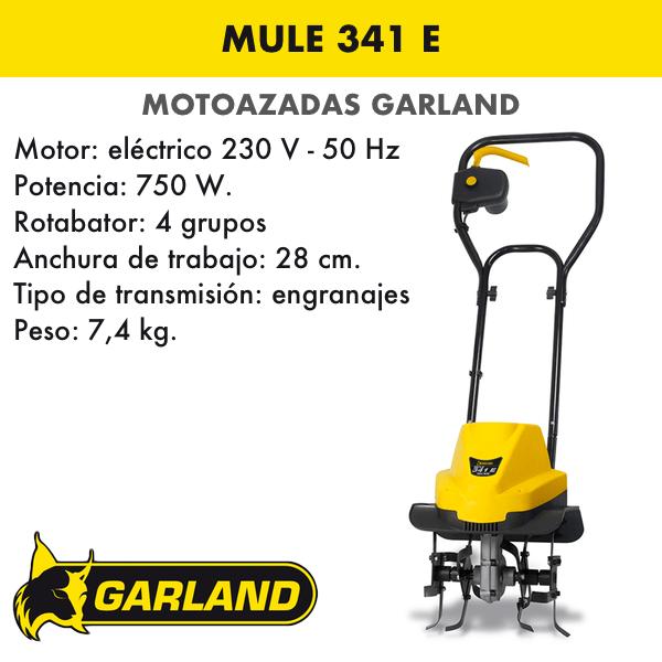 Motoazada Garland Mule 341 E