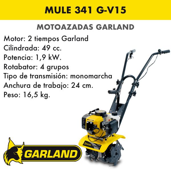 Motoazada Garland Mule 341 G-V15