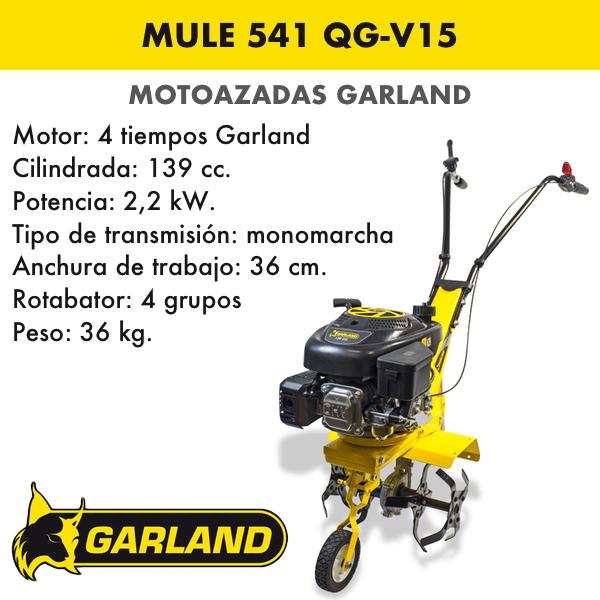 Motoazada Garland Mule 541 QG-V15
