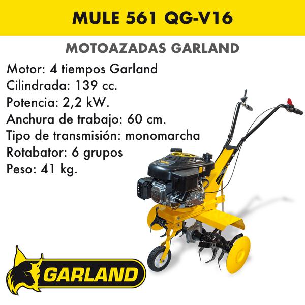 Motoazada Garland Mule 561 QG-V16