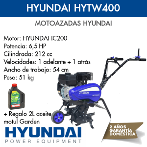 Motoazada HYundai HYTW400