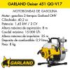 Motobombas GARLAND Geiser 451 QG-V17