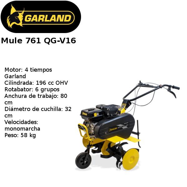 motoazada garland mule 761 qg-v16