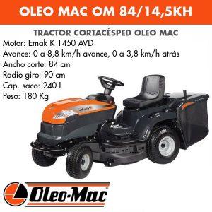Tractor cortacesped Oleo Mac OM 84 14,5 KH