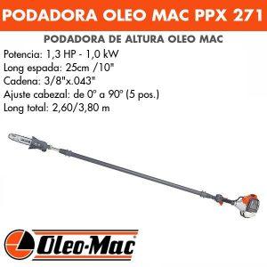 Podadora de altura Oleo Mac PPX 271