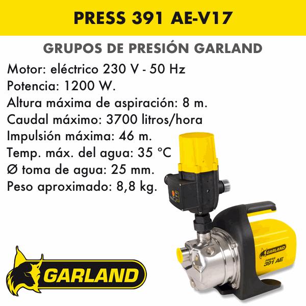 PRESS 391 AE-V17
