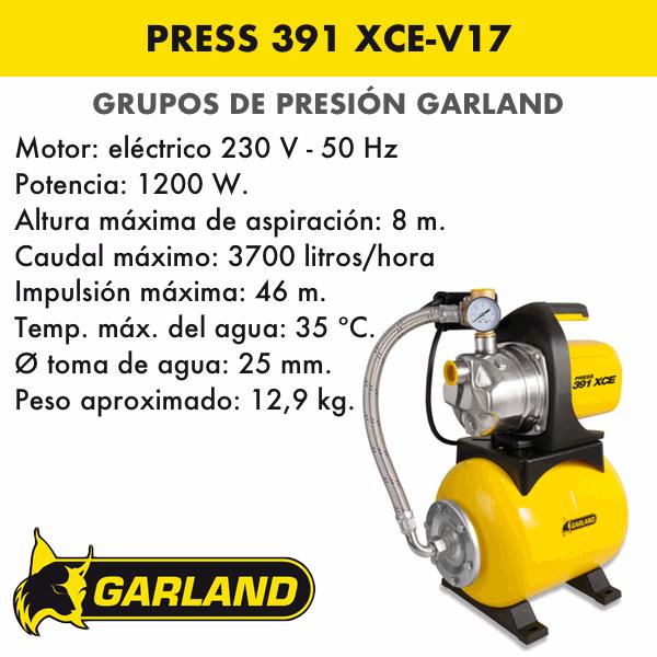 PRESS 391 XCE-V17