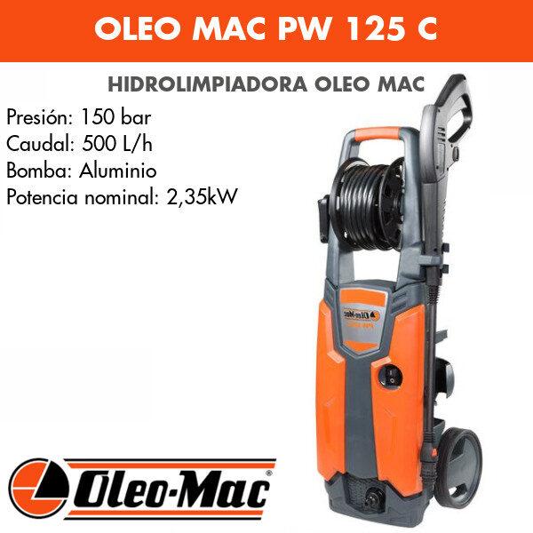 Hidrolimpiadora Oleo Mac PW 125 C