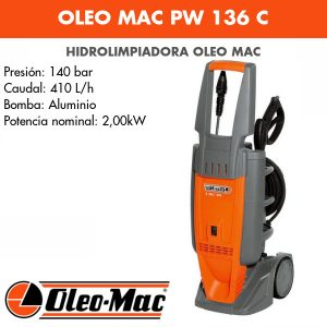 Hidrolimpiadora Oleo Mac PW 136 C