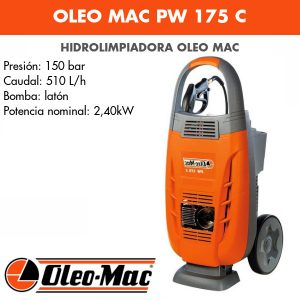 Hidrolimpiadora Oleo Mac PW 175 C