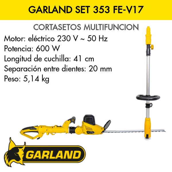 Cortasetos Multiusos Garland Set 353 FE-V17