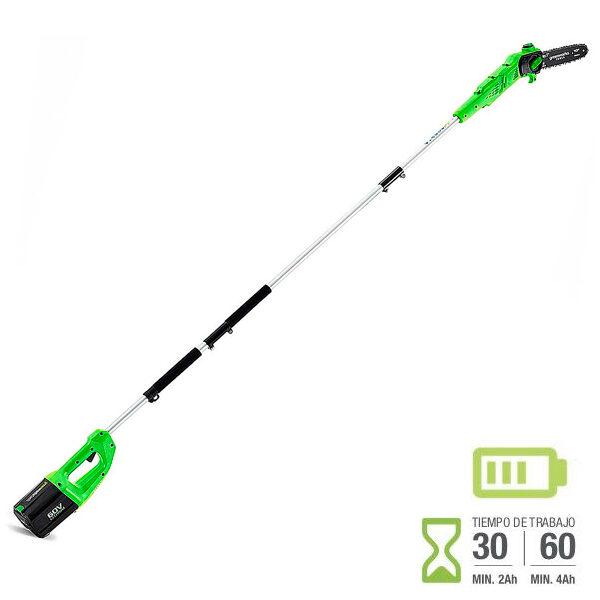 Podadora de altura batería Greenworks GD60PS