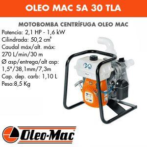 Motobomba Oleo Mac SA 30 TLA