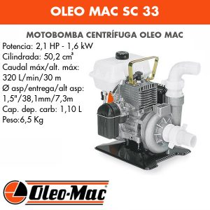 Motobomba Oleo Mac SC 33