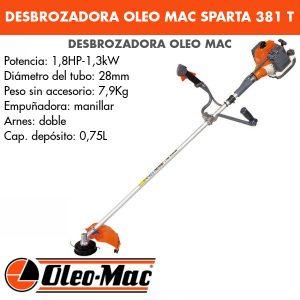 Desbrozadora Oleo Mac Sparta 381 T