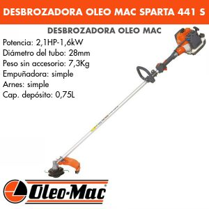 Desbrozadora Oleo Mac Sparta 441 S