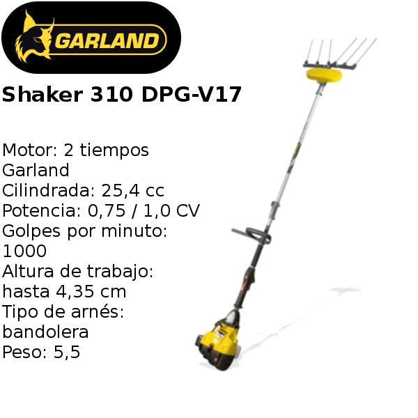 vareador garland shaker 310 dpg-v17