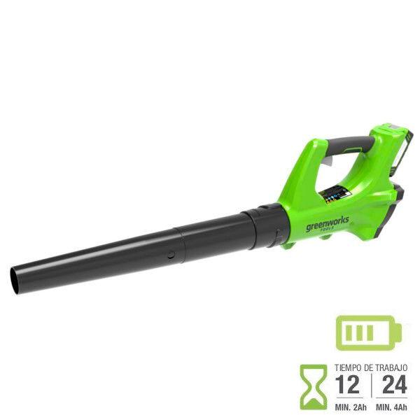 Greenworks G24AB 24v ventilateur de batterie