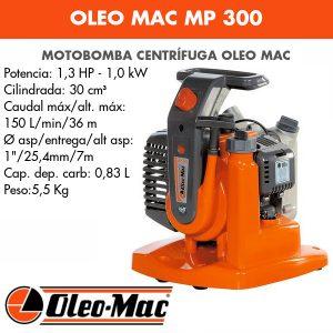 Motobomba Oleo Mac WP 300