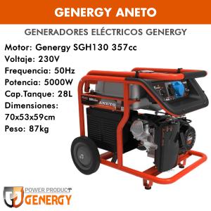 Generador eléctrico Genergy Aneto