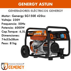 Generador eléctrico Genergy Astun