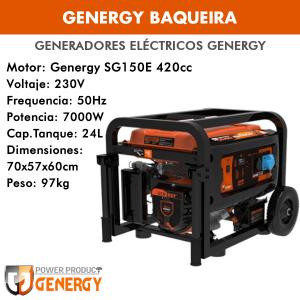 Generador eléctrico Genergy Baqueira