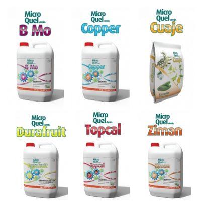 Aminoatos de Micro y Mesoelementos