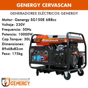 Generador eléctrico Genergy Cervascan