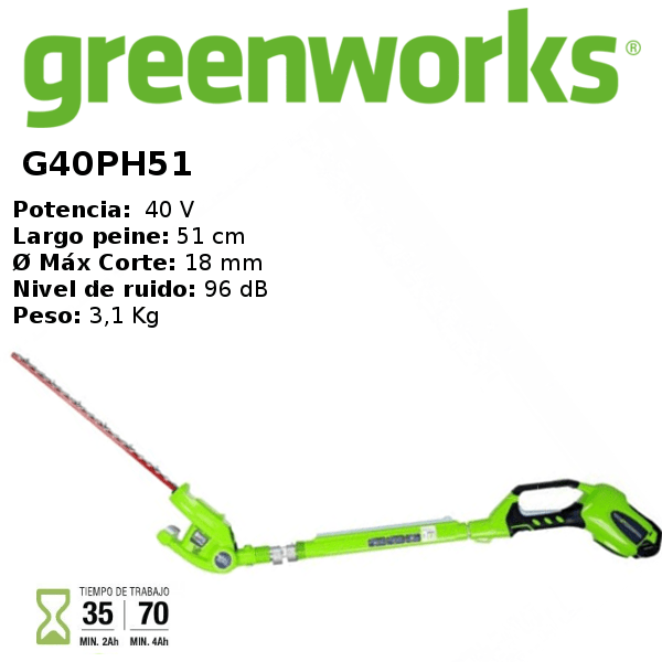 cortaseto-greenworks-G40PH51