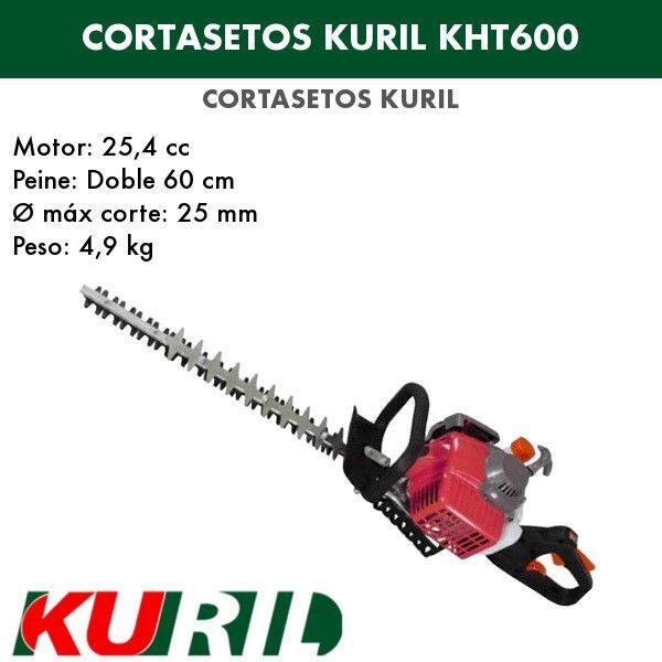 Cortasetos kuril KHT600