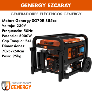 Generador eléctrico Genergy Ezcaray